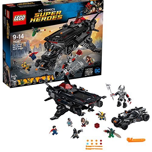 LEGO Super Heroes 76087 - Flying Fox: Batmobil-rugzak uit de lucht