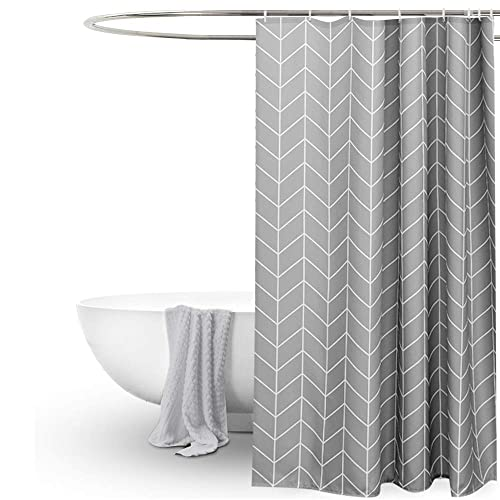 Shower Curtain Grey Amazon Co Uk