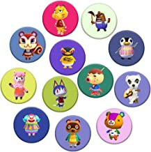 Animals Game Cross Badges Party Supplies,Best Gifts for Video Games Party Decorations (12 Pack)