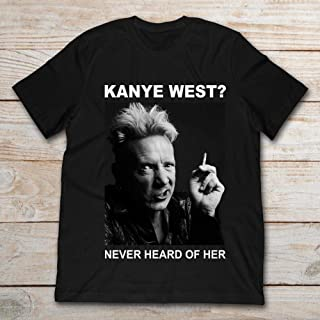 Johnny Rotten Kanye West Never Heard Of Her.