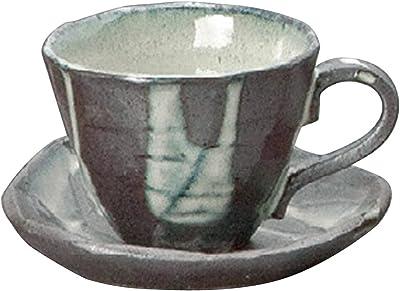 山下工芸(Yamasita craft) 均窯流しコーヒー碗皿 9.5×9.5×7.5cm 250cc 11736500