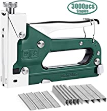 Craftsboys Staple Gun, 3 in 1 Manual Nail Gun with 3000 Staples - Heavy Duty Gun for Upholstery, Fixing Material, Decoration, Carpentry, Furniture