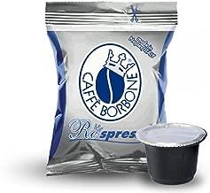 Borbone 200 capsule Respresso miscela Blu, Compatibile con Nespresso
