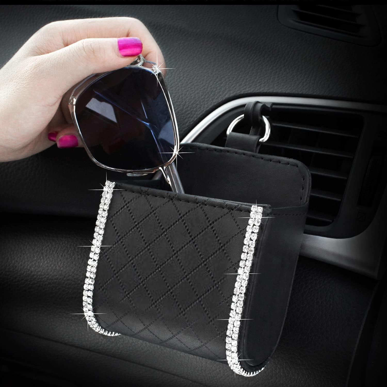 Car Air Vent Storage Bag Organizer H specialty shop Bling Driver Pockets Pocket Super popular specialty store