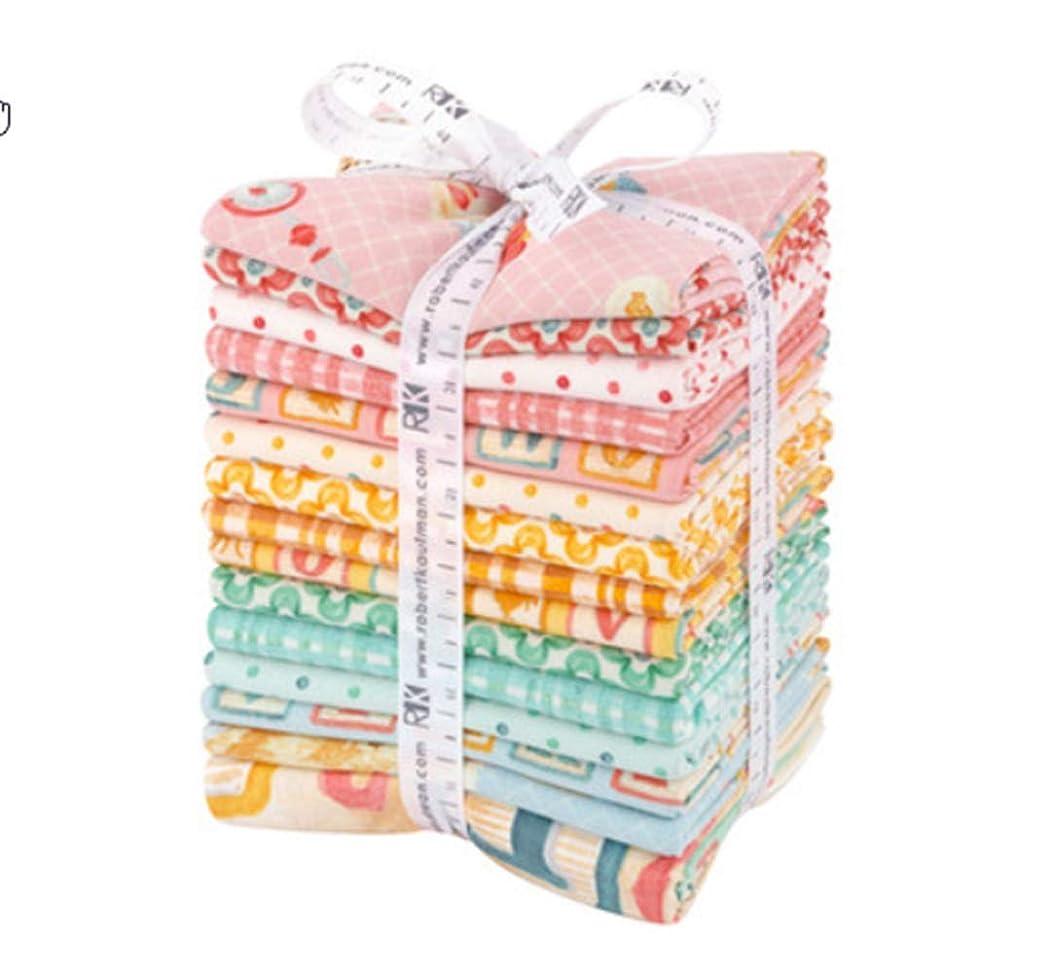 Robert Kaufman Fabrics Little One 15 Fat Quarter Bundle by Rebecca BAER for Robert Kaufman, Assorted