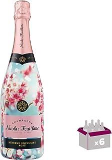 Champagner Nicolas Feuillatte - Rosé Limited EditionSakura - In 6  75cl Geschenkbox