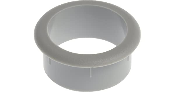 The Hillman Group 59339 1-1//2-Inch Grey Grommet without Cap 2-Pack