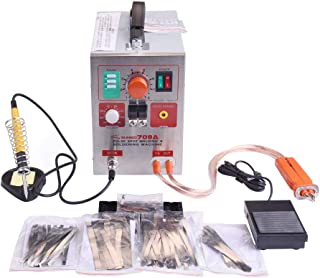 KNOKOO Soldador del punto de la batería del pulso de 1.9kw LED 709A con la