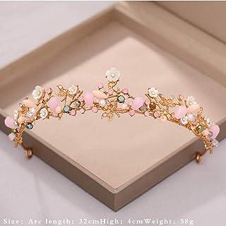 Gold silver crystal tiara hair accessories crown wedding crown bridal tiaras and crowns hair jewelry wedding hair accessories|Hair Jewelry|Jewelry & Accessories
