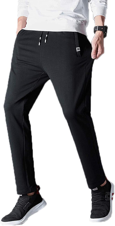 Elonglin Men's Sweatpants Joggers Trousers Drawstring Tracksuit Jogging Bottoms