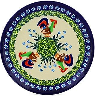 polish pottery unikat dessert plates