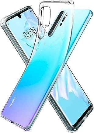 Spigen Liquid Crystal, Cover Huawei P30 PRO con Tecnologia Air Cushion e Protezione per Custodia per Huawei P30 PRO - Crystal Clear