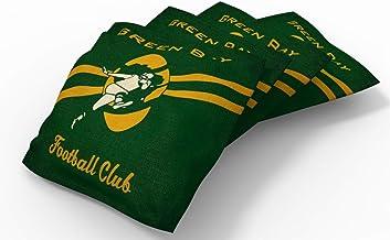 """PROLINE 6"""" x 6"""" NFL Bean Bag Set (4 Pack) - Nostalgia Design"""