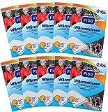 10er Pack Wärmekissen 12h, Wärmespender, Wellnesprodukt für Massage & Entspannung, 0106-10er