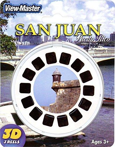 View Master San Juan Puerto Rico 3 Reel Set - 21 3D Images