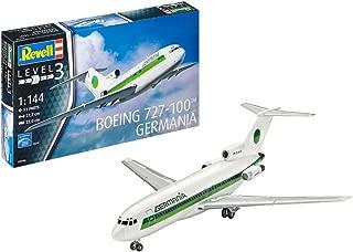 Revell Boeing 727-100 Germania, Kit de Modelo, Escala 1:144 (3946) (03946), 27,7cm