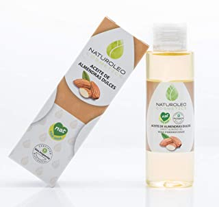 Naturoleo Cosmetics - Aceite Almendras Dulces NAT - 100% Puro y Natural Certificado - 100 ml
