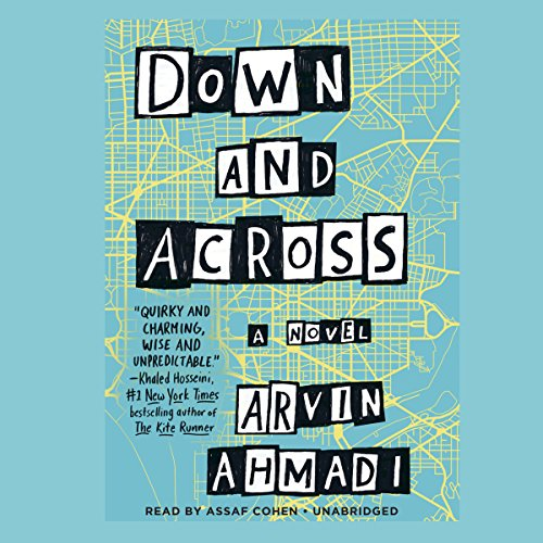 Down and Across audiobook cover art