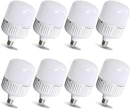 لمبة ليد ، قاعدة E27 20 واط ، 5000 كلفن إضاءة نهارية بيضاء موفرة للطاقة في المكتب / المنزل ، 8 عبوات