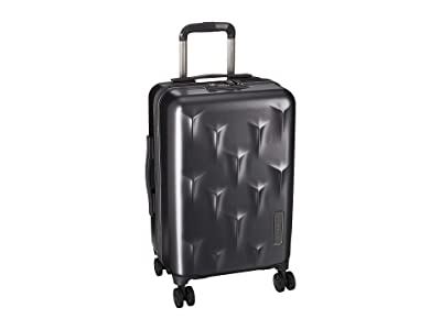 Hedgren 20 Carve Small Carry-On Spinner (Charcoal) Carry on Luggage