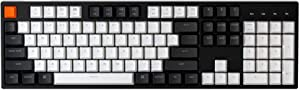 Keychron C2 Full Size Wired Mechanical Keyboard for Mac,Hot-swappable,Gateron Brown Switch, RGB Backlight, 104 Keys ABS keycaps Gaming Keyboard for Windows, USB-C Type-C Braid Cable