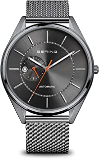 BERING Mens Analogue Automatic Watch with Stainless Steel Strap 16243-377
