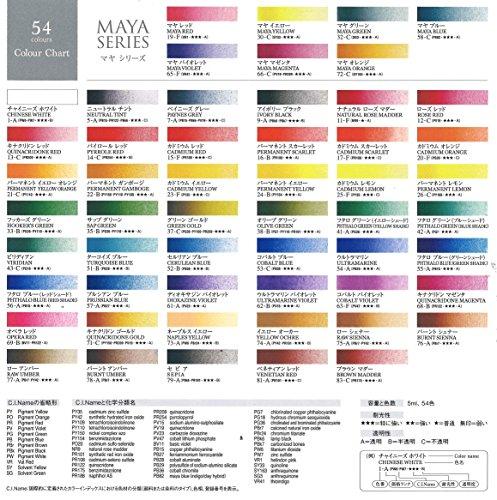 ターナー『透明水彩絵具18色セット(WT00518C)』