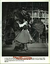 Vintage Photos 1994 Press Photo A Scene from Walt Disney's World on Ice - Beauty and The Beast