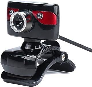 Webcam 12.0Mpixels USB 2.0 480P Optical Lens PC Webcam Built-in Sound Absorption Mic Clip-on Driver-Free Web Camera for La...