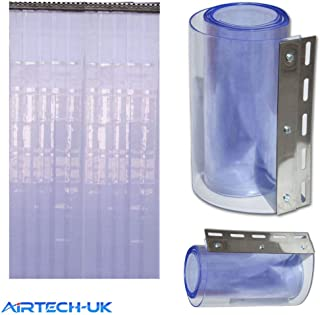 Cortina de tira Airtech para la puerta del congelador, 1&