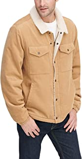Levi's Men's Corduroy Sherpa Lined Trucker Jacket