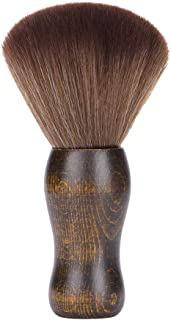 Lurrose Professional hair cutting brush soft fiber face neck duster brush hairdressing salon barber tools