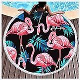 PENGDDP Toalla De Piscina Toallas Playa Toalla De Playa Toalla Microfibra Pelo para Deportes Viajes Natación Playa Yoga O Bañotoalla De Playa Redonda(Size:Diameter: 150cm,Color:9)