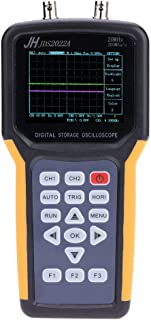 Oscilloscope, KKmoon Handheld Digital TFT LCD Dual-channel 2 Channels Oscilloscope Portable Scope Meter 20MHz Bandwidth 200MSa/s Sample Rate