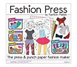 Includes eight fashion press punch-plates, one fashion press roller, 50 sheets, 50 pattern paper sheets, and one design guide. No tracing or cutting required Use the pieces as-is or decorate them in your own unique style Inspires creativity and hours...