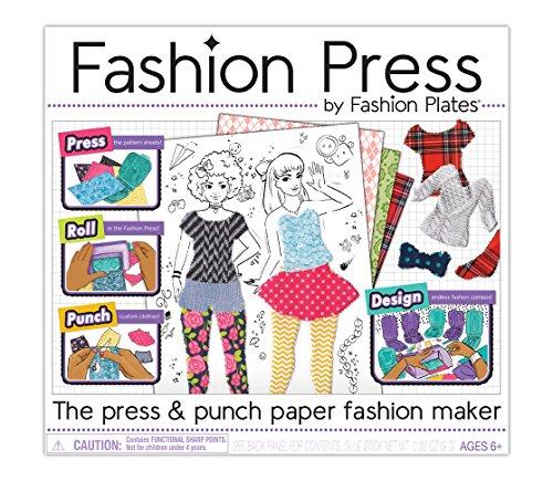 Kahootz Fashion Press Paper Fashion Maker Deluxe Activity Kit