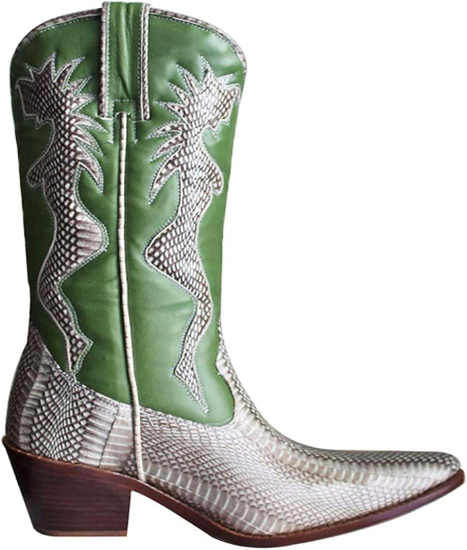 HGilliane Design Modell Stiefel aus Leder und westlichen Modell Molly 33-44 NUR MIT IHREN FUMAEN