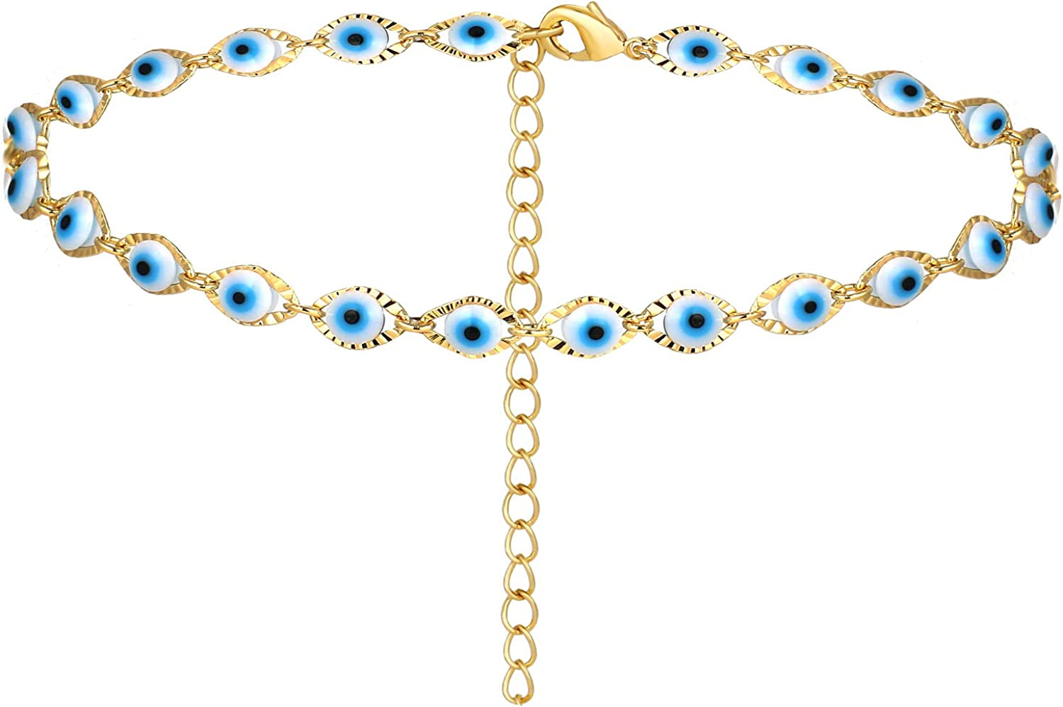 choice of all Selling and selling Ranking TOP10 Dainty Evil Eye for Necklace E Colorful Women
