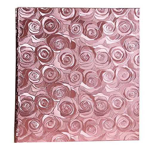Ksmxos 600 Pockets Leather Cover Photo Album 4x6 Large Capacity for Baby Family Wedding Anniversary Albums Pink