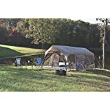 Northwest Territory Stone Cottage Tent with lighting and projector screen