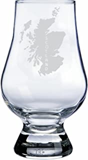 Glencairn Scotland Themed Whisky Glass