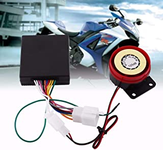Motorcycle Alarm System Scooter Anti-Theft Security Alarm System Remote Control Engine Start+Alarme Moto Bike Speaker New