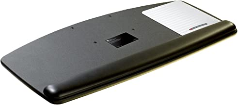 3M Standard Keyboard Platform, Gel Wrist Rest with Antimicrobial Product Protection (KP100LE)