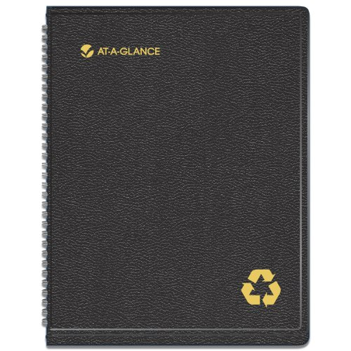 AT-A-GLANCE 2014�2015 Academic Year Weekly and Monthly Appointment Book, Wirebound, Black, 8.25 x 10.88 Inch Page Size (70-957G-05)