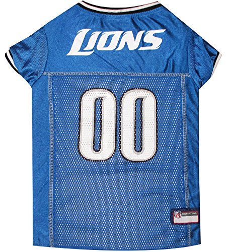 NFL DETROIT LIONS DOG Jersey, X-Small