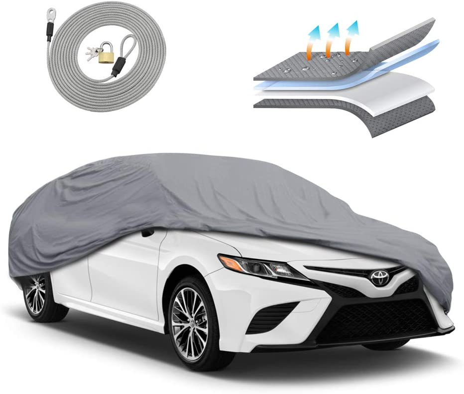 Motor Trend Max 83% OFF OC444 4 Layer Series Outdoor Fit Custom Car fo gift Cover