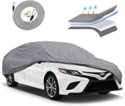 Motor Trend OC444 4 Layer Series Outdoor Car Cover Custom Fit for Toyota Camry 1991-2018 All Weather Protect Waterproof