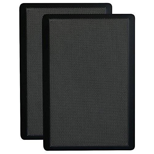 Ultra Slim On-Wall Speaker Pair 5' Two-Way - Black