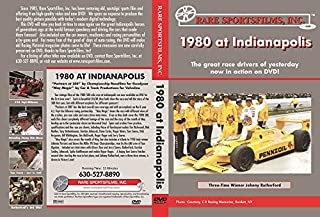 """1980 AT INDIANAPOLIS Two films on one DVD: """"Partners at 200"""" by Championship Racefilms for Goodyear and """"May Magic"""" by Car & Track Productions for Valvoline"""