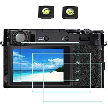 Savvies Crystalclear Screen Protector for Canon Legria HF M406 Display Protection Film Protective Film 100/% fits